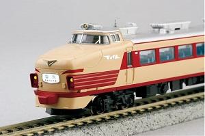 485系初期型雷鳥の車両模型