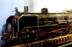 大型でパワフルな蒸気機関車「C53形」