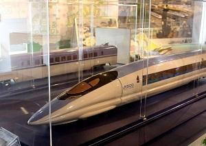 「500系新幹線」の車両模型
