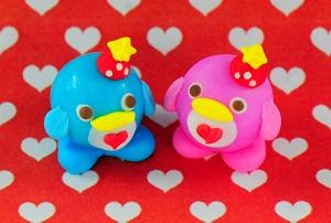 「愛のペンギンクリスマス」バージョンの個数限定ペンギンガム
