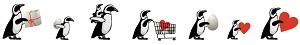 ペンギンのイルミネーション「PENGUIN CARNIVAL」