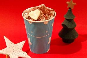 3日間限定販売の「クリスマスホットチョコレートドリンク」