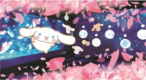 「くらげ」エリアに「お花見クラゲ」が新登場!3/15~4/8 (※イベントは終了しました)